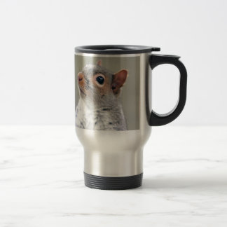 Cute Squirrel 15 Oz Stainless Steel Travel Mug