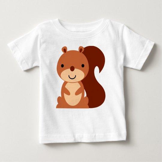 Cute Squirrel Baby Shirt