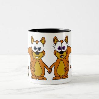 Cute Squirrel Cartoon Mug