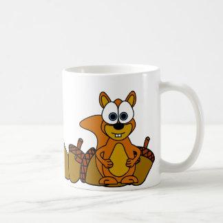 Cute Squirrel Cartoon Mugs