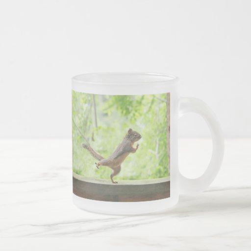 Cute Squirrel Doing Tai Chi Mug