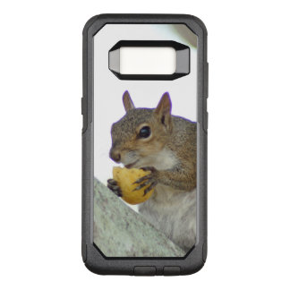 Cute Squirrel eating OtterBox Commuter Samsung Galaxy S8 Case