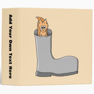 Cute Squirrel in a Boot. Binder