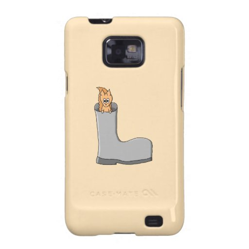 Cute Squirrel in a Boot. Samsung Galaxy SII Covers