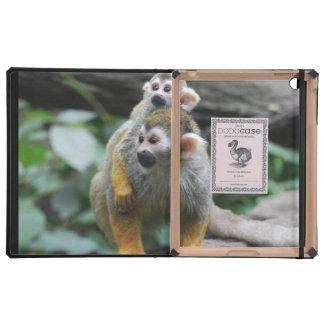 Cute Squirrel Monkey iPad Covers