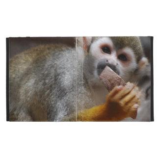 Cute Squirrel Monkey iPad Folio Cases