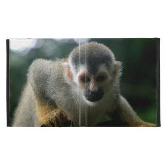 Cute Squirrel Monkey iPad Case