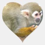 Cute Squirrel Monkey Stickers