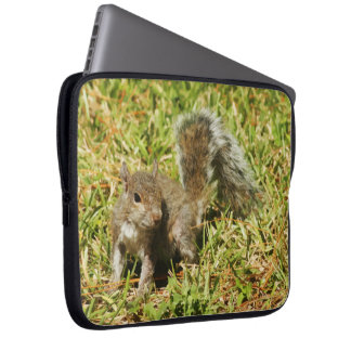 Cute Squirrel Nature Laptop Sleeve