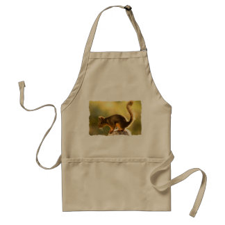 Cute Squirrel on a Cookie Jar Aprons