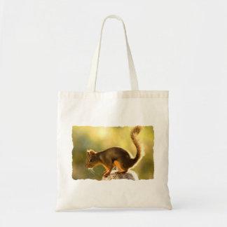 Cute Squirrel on a Cookie Jar Tote Bag