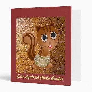Cute Squirrel Photo Binder