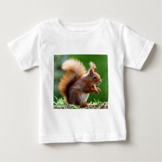 Cute Squirrel Picture Baby T-Shirt