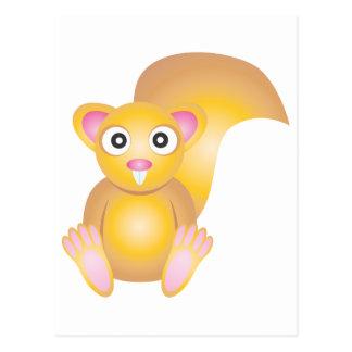 Cute Squirrel Postcard