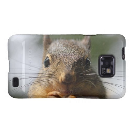 Cute Squirrel Smiling Photo Samsung Galaxy S2 Cover