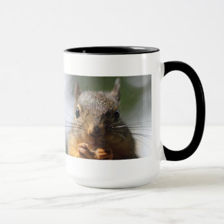 Cute Squirrel Smiling Photo Mug