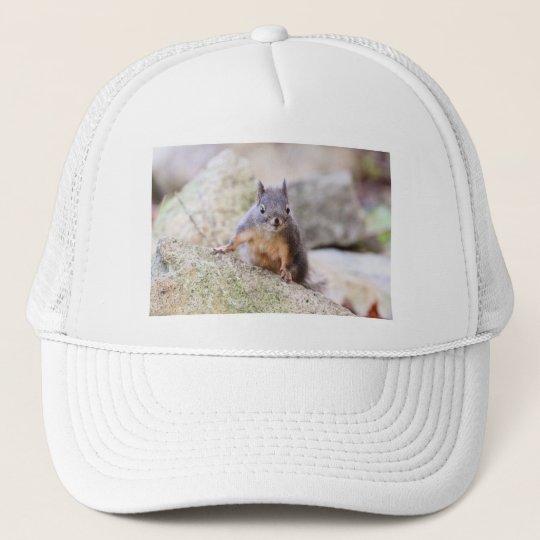 Cute Squirrel Staring Trucker Hat