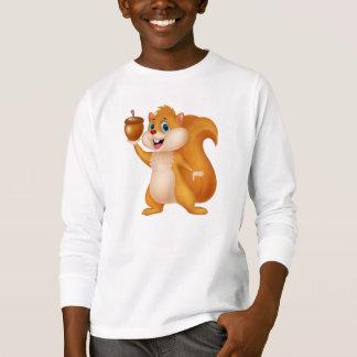 Cute Squirrel with Acorn T-Shirt
