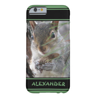 Cute Squirrel With Peanut Woodland Nature Rodent Barely There iPhone 6 Case