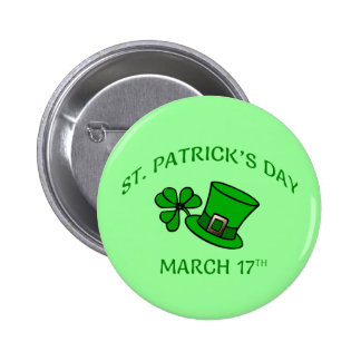 Cute St. Patrick's Day Badges / Pins