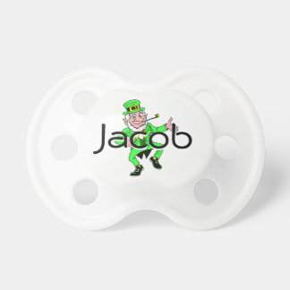 Cute St. Patrick's Day Dancing Leprechaun Pacifier