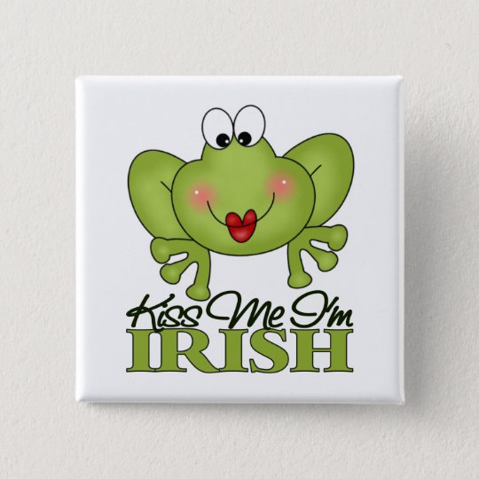 Cute St. Patrick's Day Gift Pinback Button