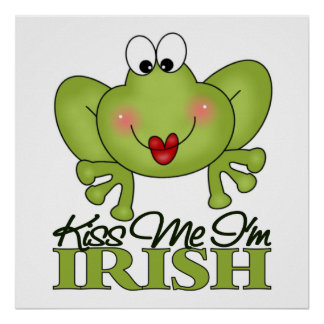 Cute St. Patrick's Day Gift Poster