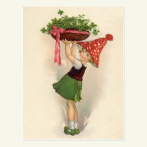 Cute St. Patrick's Day Postcards