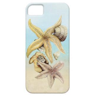 Cute Star Fish & Seashells Summer Beach Theme iPhone SE/5/5s Case
