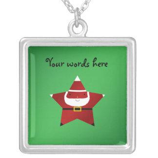 Cute star santa claus pendants