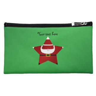 Cute star santa cosmetic bags