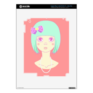 Cute Stare Skins For iPad 3
