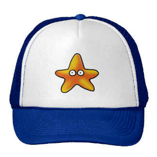 Cute starfish trucker hat