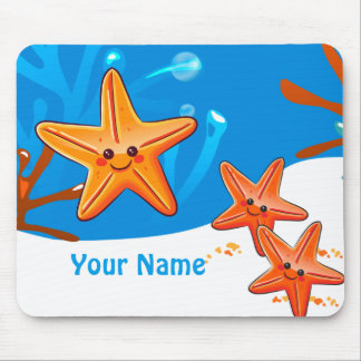Cute Starfish Ocean Aquatic Mousepad