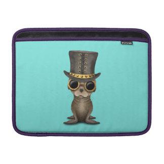 Cute Steampunk Baby Sea Lion Sleeve For MacBook Air