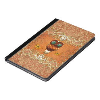 Cute steampunk owl iPad air case