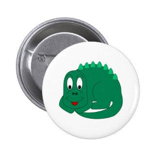 Cute Stegosaurus Pinback Button