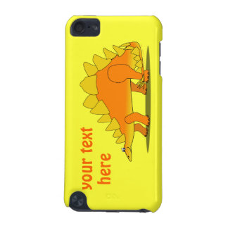 Cute Stegosaurus Dinosaur Cartoon Template iPod Touch (5th Generation) Covers