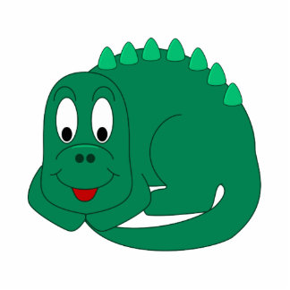 Cute Stegosaurus Acrylic Cut Out