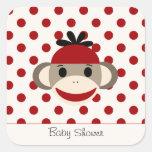 Cute Stickers By The Sock Monkey Shoppe