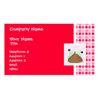 Cute Stinky Poo Business Cards
