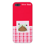 Cute Stinky Poo Cases For iPhone 5