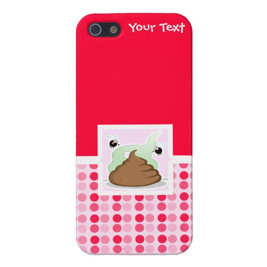 Cute Stinky Poo iPhone SE/5/5s Cover