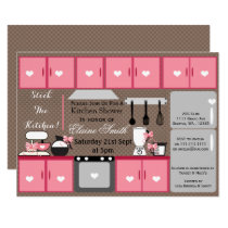Cute stock the kitchen Bridal shower Invite