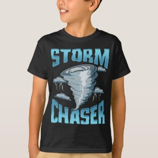 Cute Storm Chaser Severe Weather Tornado Obsessed T-Shirt