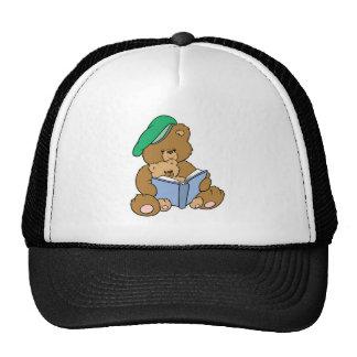 Cute Story Time Teddy Bear Design Trucker Hat