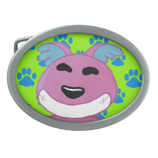 Cute strange dog belt buckles