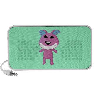 Cute Strange doggy Laptop Speaker