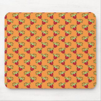 Cute Strawberries Pattern Mouse Pad
