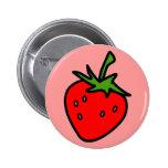 Cute Strawberry button